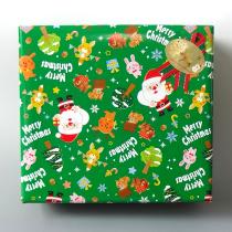 クリスマスラッピング(緑)