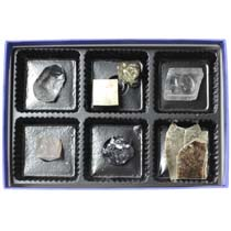 鉱物結晶標本6種