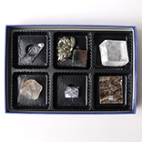 結晶鉱物標本6種