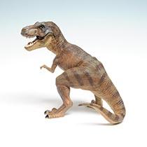 ティラノサウルスモデル(茶)
